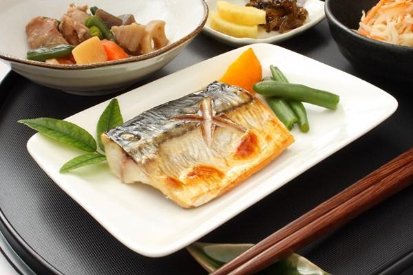 お魚中心の食事