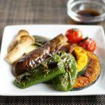 夏野菜とエリンギのグリル・ポン酢味
