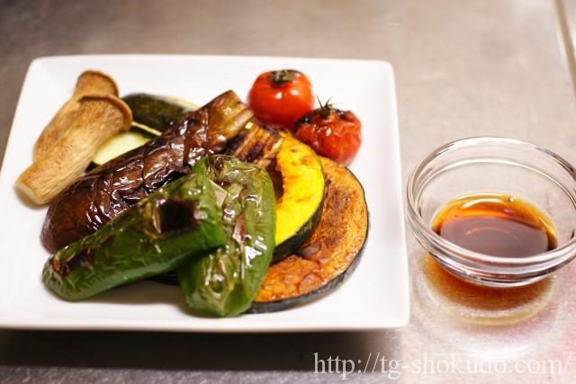 夏野菜とエリンギのグリル・ポン酢味の作り方の手順3の画像