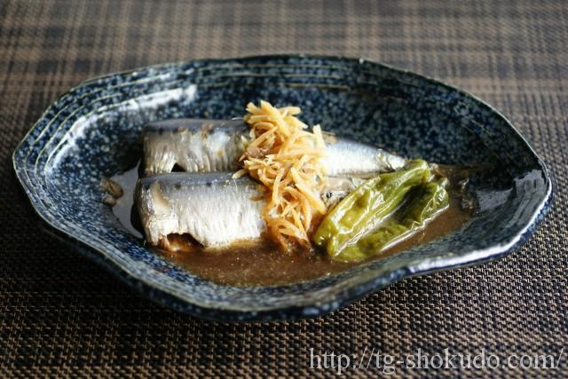 いわし(鰯)の生姜煮