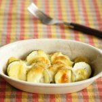 ズッキーニとポテトのチーズ焼き