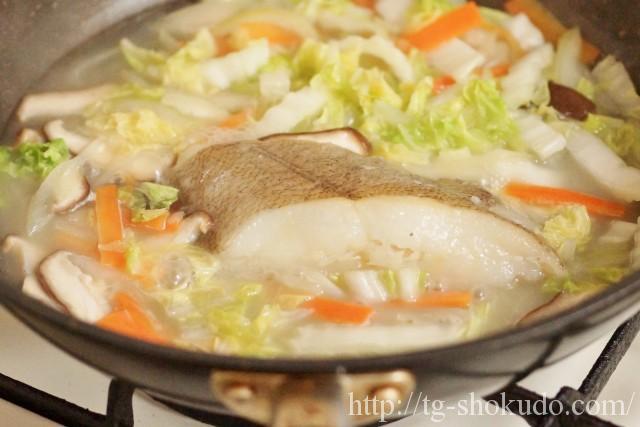 カレイと野菜の中華煮の作り方の手順3の画像
