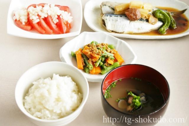中性脂肪を下げる1週間の献立例【夏~秋の6日目】青魚の栄養素をしっかり摂れるいわしの献立