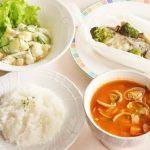 中性脂肪を下げる1週間の献立例【冬No.1の1日目】低カロリーな主菜とボリュームのある副菜のバランス献立