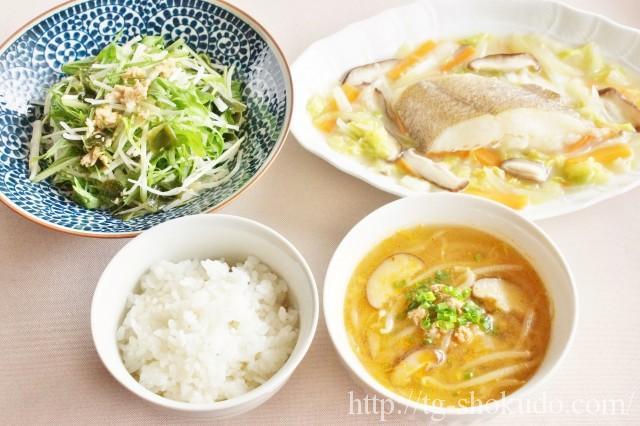 中性脂肪を下げる1週間の献立例【冬No.1の5日目】身体を温めてくれそうな冬野菜たくさんの中華献立