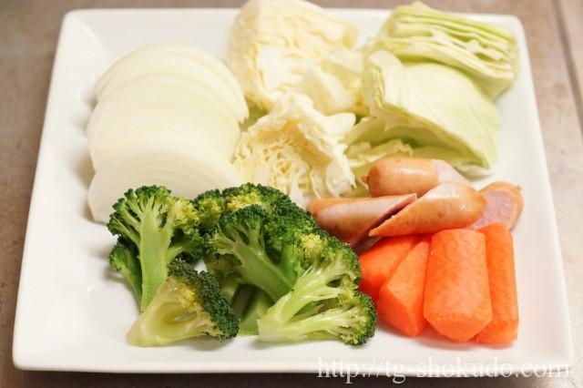ポトフスープの作り方の手順1の画像