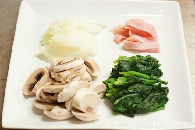豆腐のキッシュ風の作り方の手順1の画像