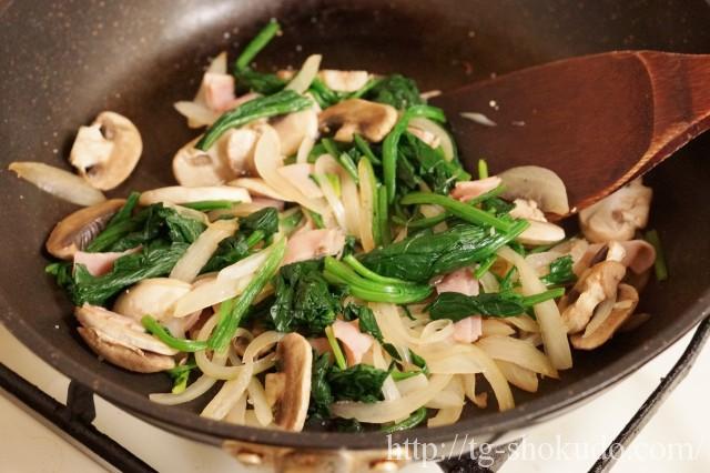 豆腐のキッシュ風の作り方の手順2の画像