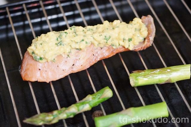 鮭の菜種焼きの作り方の手順3の画像