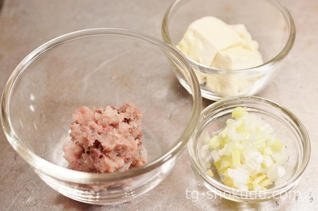 いわしと豆腐のハンバーグの作り方の手順1の画像