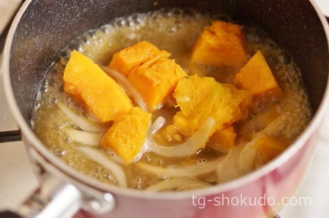 かぼちゃの冷製スープの作り方の手順2の画像