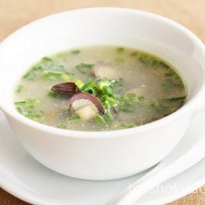ネギとシジミのスープ