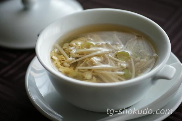 えのきのかき玉スープ