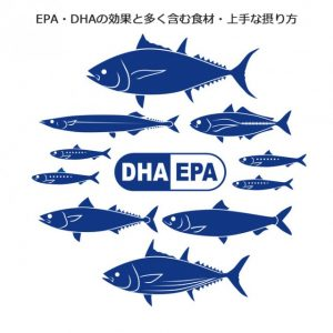EPA・DHAを含む魚