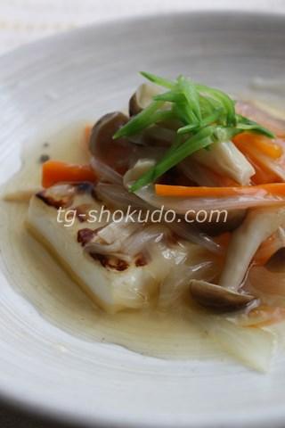 豆腐のステーキ・野菜あんかけ
