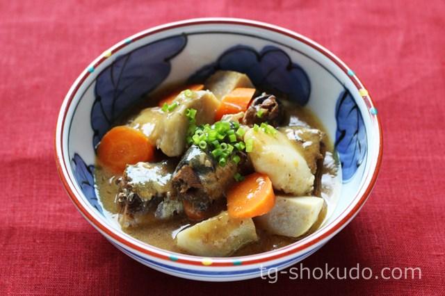 いわしと里芋の味噌煮